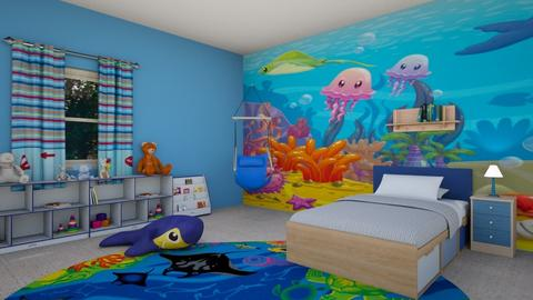 Kids Bedroom Contest - Bedroom  - by milica tanurdzic