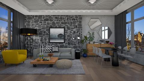 GY Living - Modern - Living room  - by 3rdfloor