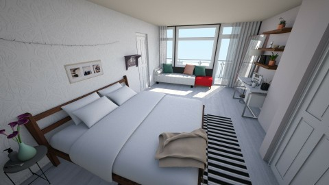 Bedroom redesign - Modern - Bedroom  - by lila p