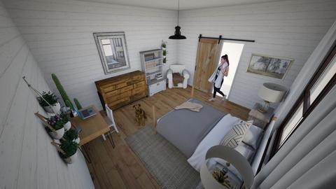 Farmhouse Bedroom - Bedroom  - by EZdonuts