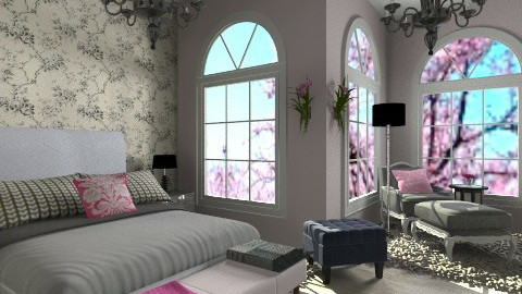 little bit of pink - Classic - Bedroom  - by martinabb