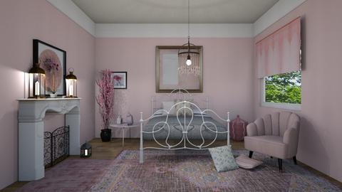 pink - Feminine - Bedroom  - by steker2344