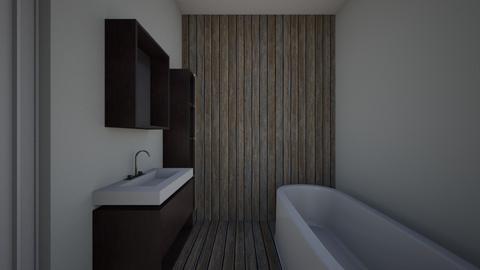 David - Bathroom  - by JoanneMc1812
