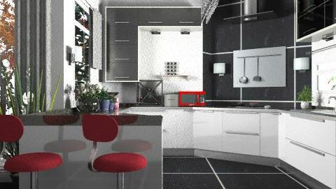 Kitchen2 - Modern - Kitchen  - by KittiFarkas