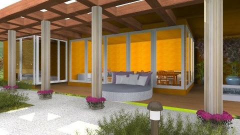 casa1 - Rustic - Garden  - by ninaswiman