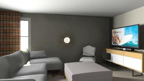 basement II - Living room - by mshockley