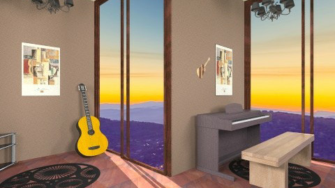 Music Studio - Modern - Office  - by HGranger2