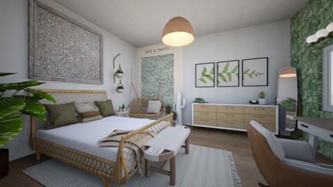 plantbedroomremix - Bedroom  - by tahliawaters