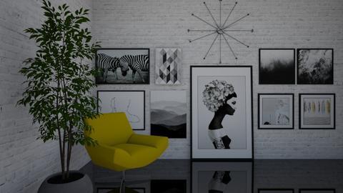 Gallery wall - by Cristina Mazilu