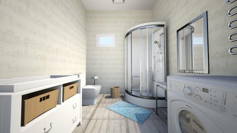 Q - Bathroom - by Viktorija Ridele