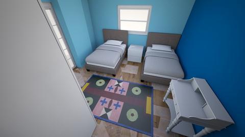 Kids Room V2 - Modern - Kids room  - by Sparkbleh