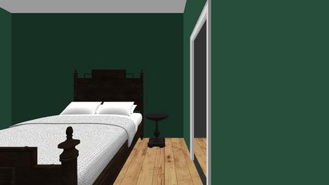 Bedroom Revised - Vintage - Bedroom  - by luv4pawsnhooves