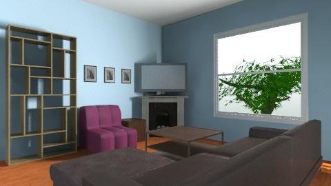 Livingroom - Minimal - by lokagaki