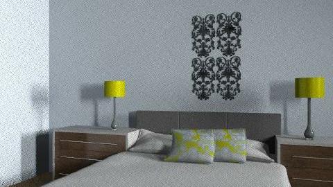 Zenga daughters floor plan - Retro - Bedroom  - by CYounkman