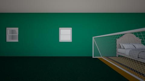 El dormitorio de Thomas - by Giraff137