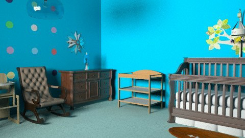 Baby Boy Nursery - Modern - Kids room  - by 1234ChAz
