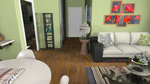 flat 7 - Glamour - Living room  - by sally89