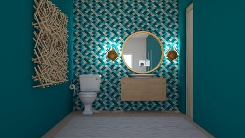 Mexico Powder Bath - Bathroom  - by kelseyburgard