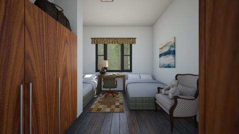 Retreat Center - Bedroom  - by SammyJPili