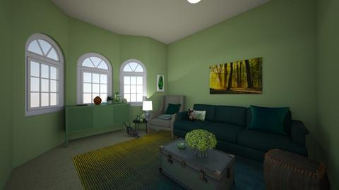 Elements Of Design Color - Living room  - by 0197075