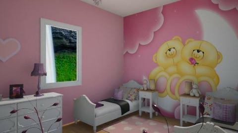 forever friends - Kids room  - by Sophia Giann