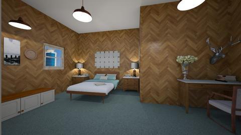 Teenager room - Rustic - Bedroom  - by nikitah23