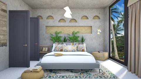 BOHE BEDROOM - Modern - Bedroom  - by zayneb_17