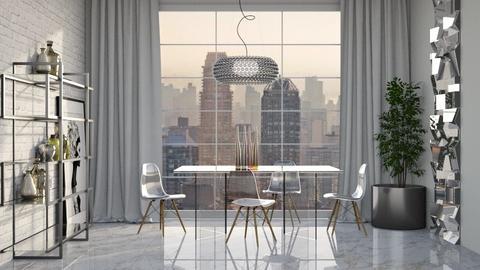Transparente - Dining room  - by Alecio