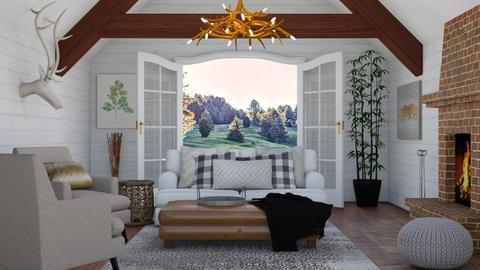 Rustic - Living room  - by switte94