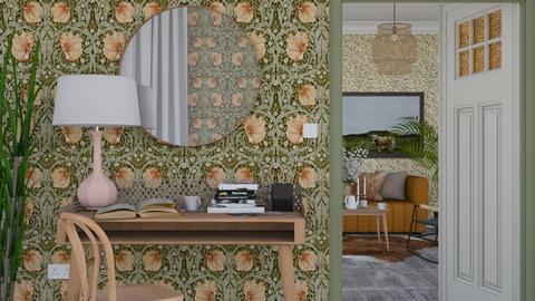 Cozy living - Modern - Office  - by HenkRetro1960