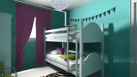Baby and Child Girls Room - Eclectic - Kids room  - by Rachael Macgregor