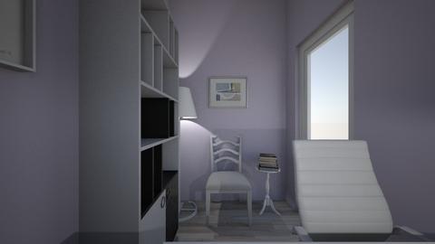 Purple office - Office  - by morgandean13