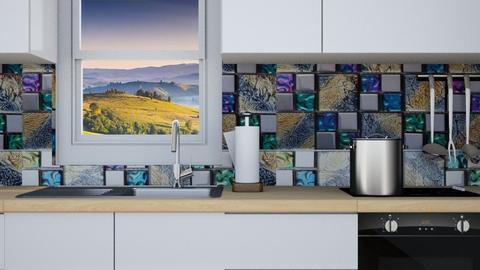 Iridescent Kitchen - Kitchen  - by Feeny