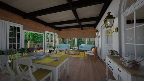 veranda  - Country - Garden  - by nuray kalkan