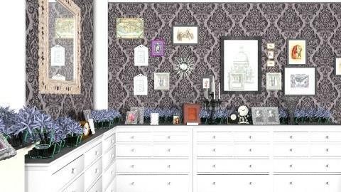 design ugntu3 - Vintage - Living room  - by Alina232323