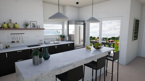 Modern Farmhouse Kitchen - by jafta