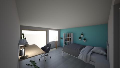new room  - Bedroom  - by Charlottahe