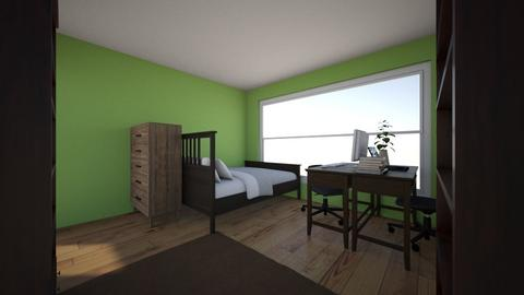 l and r bedroom - Bedroom  - by lazurell