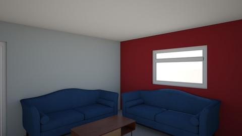 Layout 2 - Living room  - by OrangeGhost
