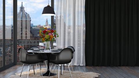 Designer Dining Room - Modern - Dining room  - by HenkRetro1960