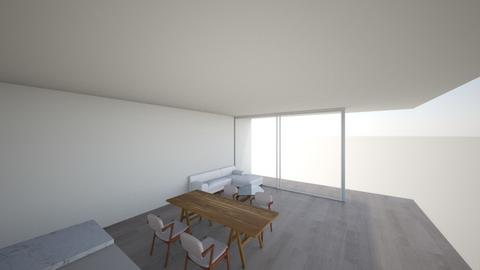 living and dining - Modern - Living room  - by zzx04025