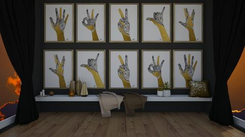 GOLD Sign Language - by KittyKat28