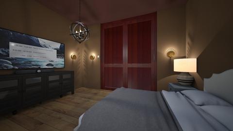 Deutsche haus - Modern - Bedroom  - by izick13