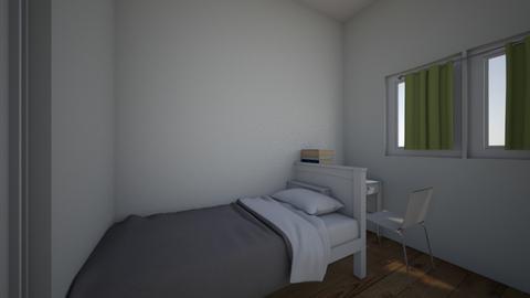My bedroom - Bedroom  - by Adinamiha