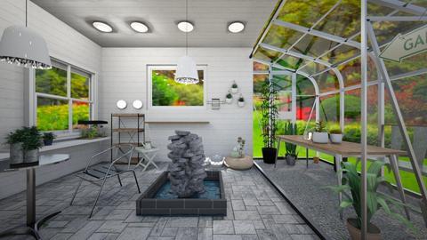 garden shed hangout - Garden  - by tessmcquillan