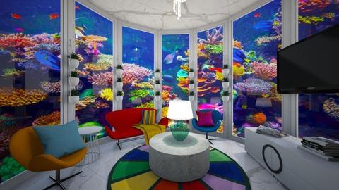 Underwater Living - Living room  - by Shan da farm freak