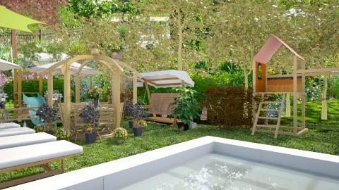 garden - Garden  - by oliricescarraman