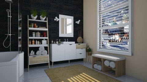 Delta - Modern - Bathroom  - by katarina_petakovi