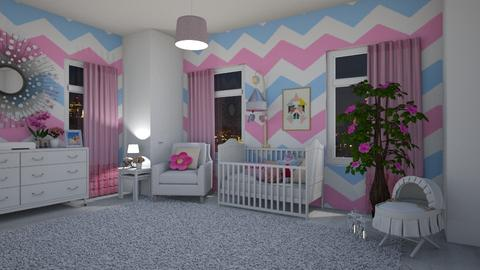 Baby girl room - by ivana_lol
