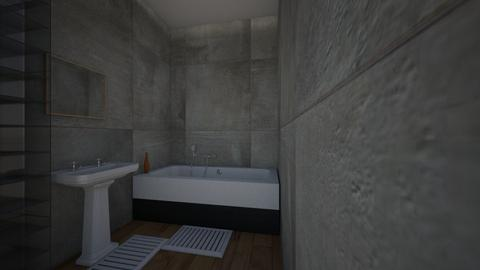 bathroom - Modern - Bathroom  - by charos007
